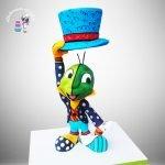 Jiminy Cricket cake
