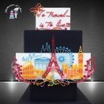 Quilling travel cake